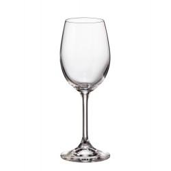 КРИСТАЛЕН КОМПЛЕКТ Чаши за бяло вино 250мл, BOHEMIA CRYSTALITE