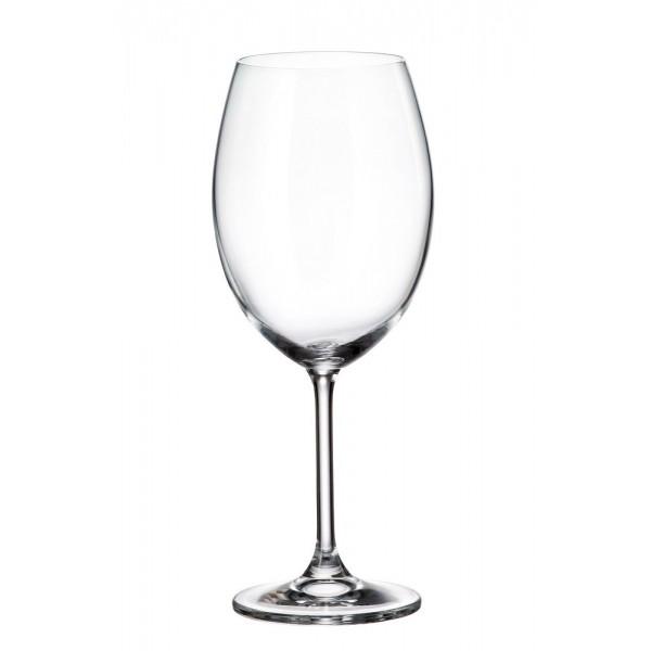 КРИСТАЛЕН КОМПЛЕКТ Чаши за червено вино 590мл BOHEMIA CRYSTALITE