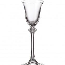 Александра - Чаши за ракия на столче 60мл, BOHEMIA CRYSTALITE