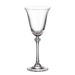 Александра - Чаши за бяло вино 185мл, BOHEMIA CRYSTALITE