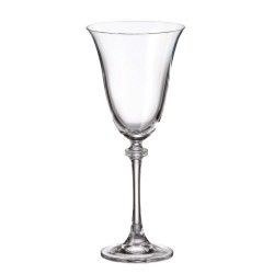 Александра - Чаши за вино 250мл, BOHEMIA CRYSTALITE
