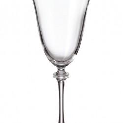 Александра - Чаши за червено вино 350мл, BOHEMIA CRYSTALITE