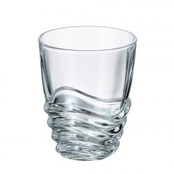 Wave - Чаши за Уиски 280мл, BOHEMIA CRYSTALITE