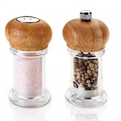 Мелничка и солница-комплект  за подправки