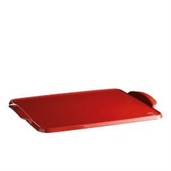 """EMILE HENRY Керамична плоча за печене """"BAKING TRAY"""" - 42 х 31 см - червен"""