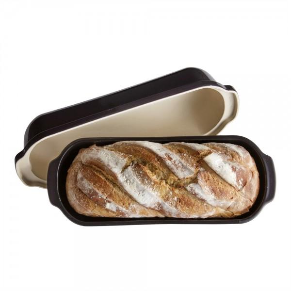"EMILE HENRY Керамична форма за печене на хляб ""LARGE BREAD LOAF BAKER"""