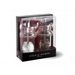 """COLE & MASON Комплект мелнички за сол и пипер """"575"""" - 10,5 см."""